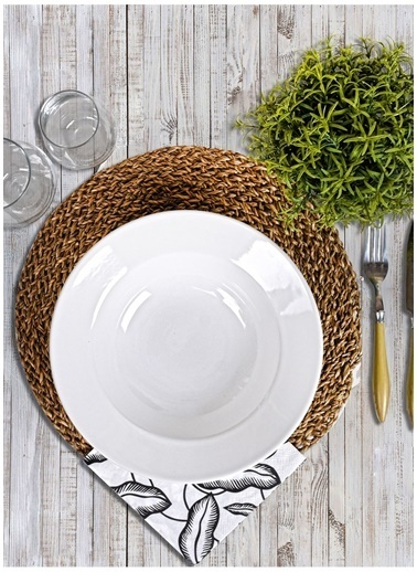 Keramika Yemek Tabağı Beyaz